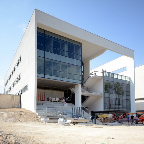Engineering School - Southern Façade 11-09-2012