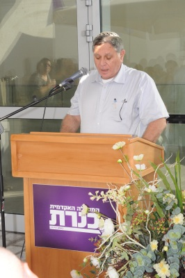 Engineering School - Ronnie Vinkler at Mezuza Ceremony 18-10-2012